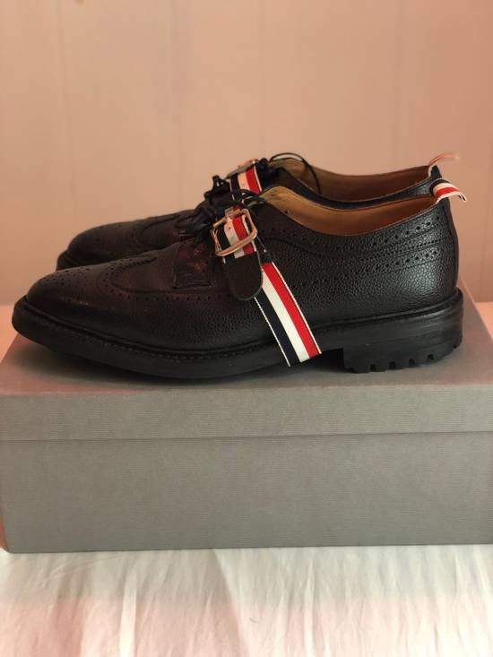 Thom Browne [FINAL PRICE DROP] Longwing Brogue With RWB Strap And Commando Sole Size US 11.5 / EU 44-45