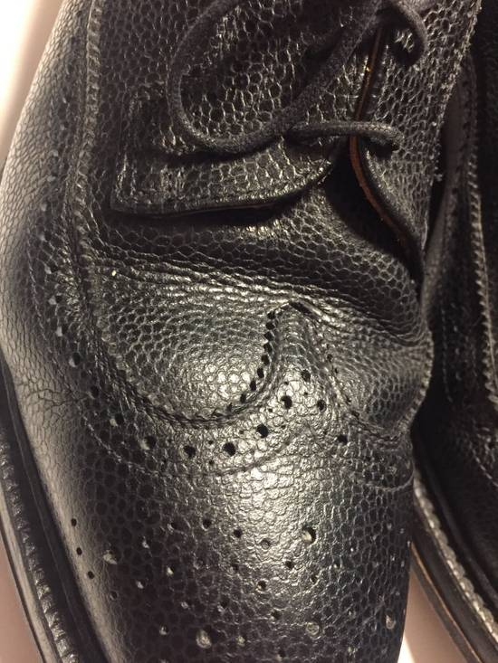 Thom Browne LAST DROP Thom Browne Pebble-Grain Leather Longwing Brogues Size US 11 / EU 44 - 3