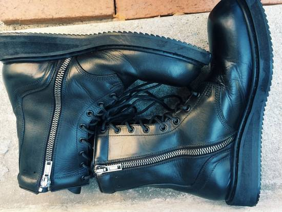 Rick Owens Anfibio Combat Boots Size 9 Boots For Sale