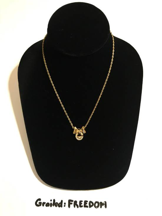 Givenchy Iced Out G Bow Chain Size ONE SIZE - 1