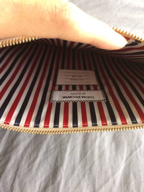 Thom Browne NEW! Nubuck Med Zipper Document Holder (A4) Size ONE SIZE - 2
