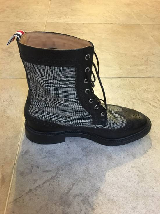 Thom Browne Prince Of Wales Check Boots Size US 7 / EU 40 - 4