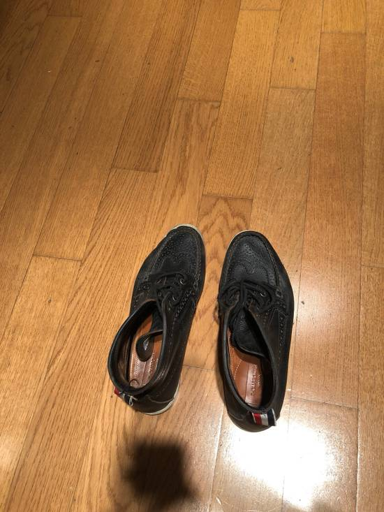 Thom Browne High Top Boat Shoes Size US 9.5 / EU 42-43 - 3