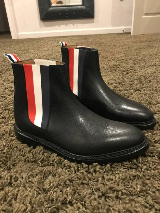 Thom Browne Tricolor Panel Chelsea Boots Size US 9 / EU 42 - 2