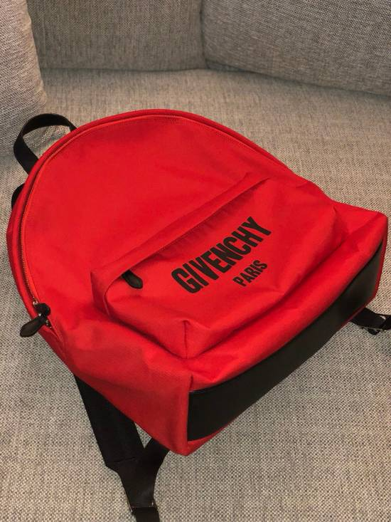 Givenchy Red Givenchy Backpack LIMITED EDITION Size ONE SIZE - 5