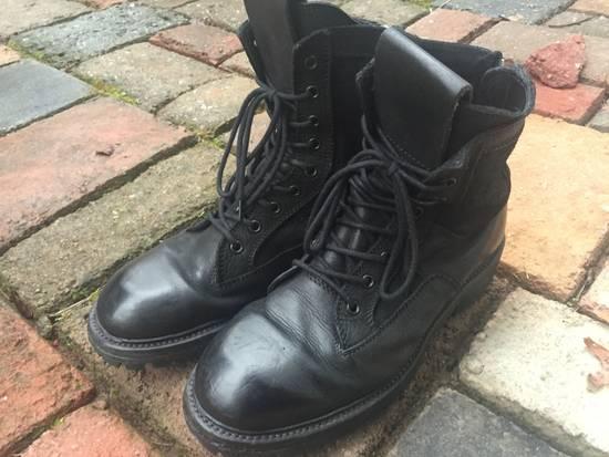Julius SS17 Backzip Combat Boots Size US 9 / EU 42 - 1