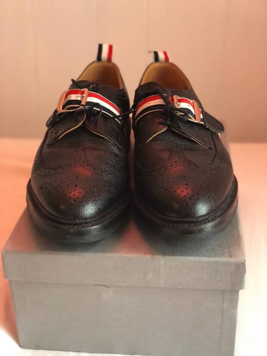 Thom Browne [FINAL PRICE DROP] Longwing Brogue With RWB Strap And Commando Sole Size US 11.5 / EU 44-45 - 1