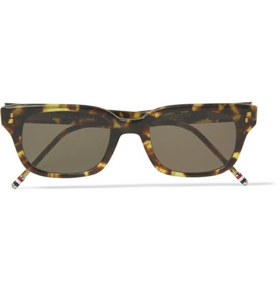 Thom Browne TB-401-B-T-TKT-49.5 sunglasses square frame Size ONE SIZE - 3