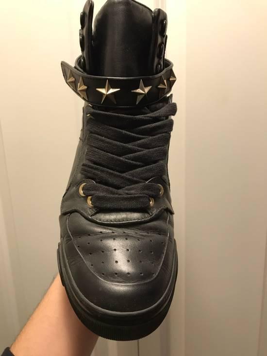 Givenchy Tyson Star Sneaker Black Gold Star Size US 11 / EU 44 - 3