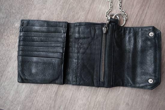 Julius black leather 3 fold wallet Size ONE SIZE - 4