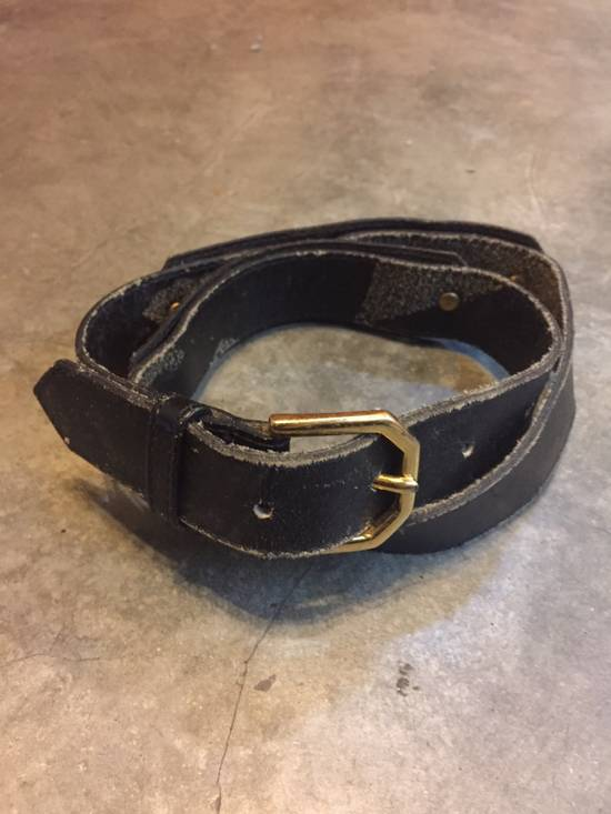 Givenchy Rare! Vintage! Givenchy Belt Classics Monogram Logo in Gold Finishing!Super Rare!High-End!Hypebeast!Streetwears! Size 28