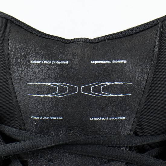 Julius 7 Black Coated Cloth Leather Hi Top Sneakers Shoes Size US 11 / EU 44 - 5