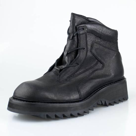 Julius 7 Black Pig Skin Leather Trekking Boots Shoes Size US 11 / EU 44 - 1