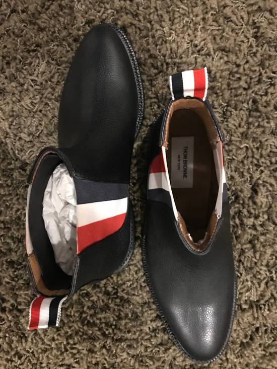 Thom Browne Tricolor Panel Chelsea Boots Size US 9 / EU 42 - 3