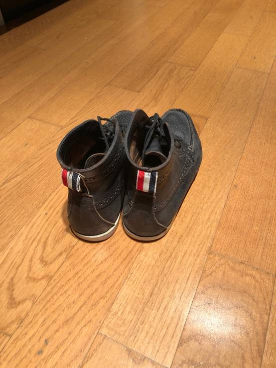 Thom Browne High Top Boat Shoes Size US 9.5 / EU 42-43 - 1
