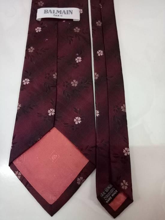 Balmain BALMAIN Paris silk tie Size ONE SIZE - 1