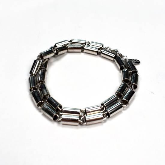 Givenchy 1976 Silver Barrel Chain Necklace / Bracelet Size ONE SIZE - 1