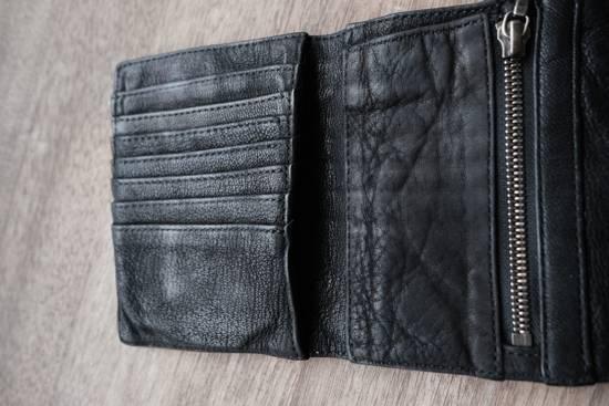 Julius black leather 3 fold wallet Size ONE SIZE - 2