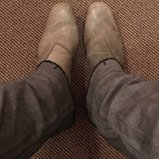 Julius AW10 grey slim boots Size US 10 / EU 43