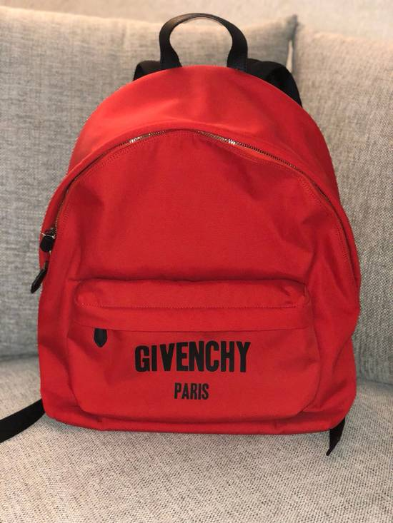 Givenchy Red Givenchy Backpack LIMITED EDITION Size ONE SIZE - 1