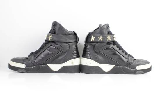 Givenchy Givenchy Black Leather High Tops Size 41 Size US 8 / EU 41 - 6