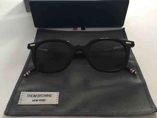 Thom Browne TB-405-A-T Black w/Deep Grey AR lens Size ONE SIZE