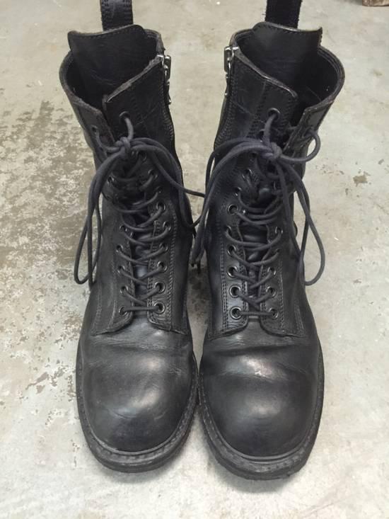 Julius 11-Hole Sidezip Combat Boots Size US 9 / EU 42 - 1