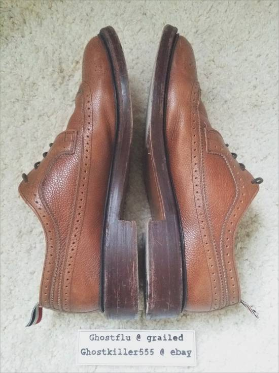 Thom Browne Thom Browne Classic Pull Tab Brown Leather Longwing Brogue Pebble Grain Size 11 Size US 11 / EU 44 - 2