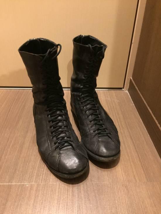 Julius FW07 Backzip Boxing Boots Size US 10 / EU 43