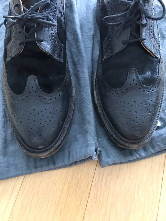 Thom Browne Black Thom Browne Wingtips Pony Hair Size US 11 / EU 44 - 6