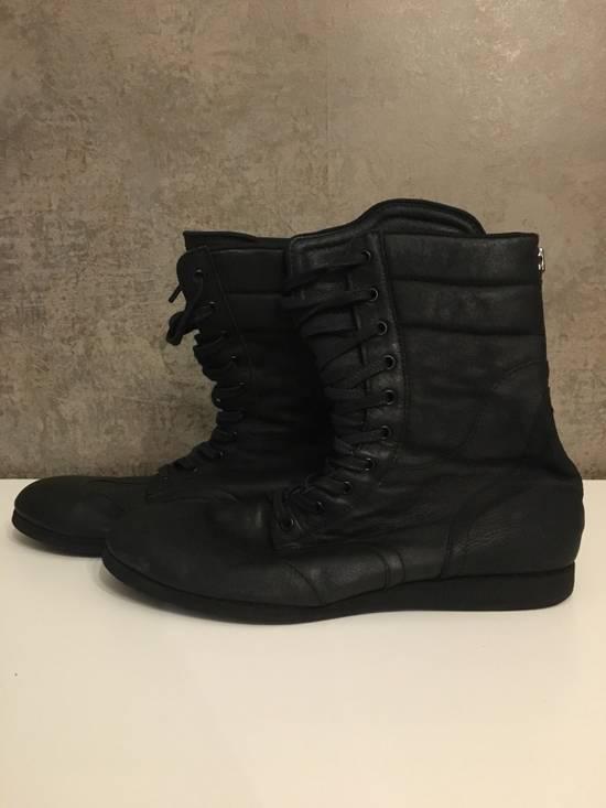Julius Backzip Black Pigskin Boxing Boots Size US 10 / EU 43 - 1