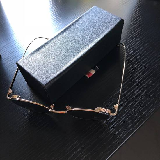 Thom Browne Thom Browne Gold Round Sunglasses Size ONE SIZE - 4