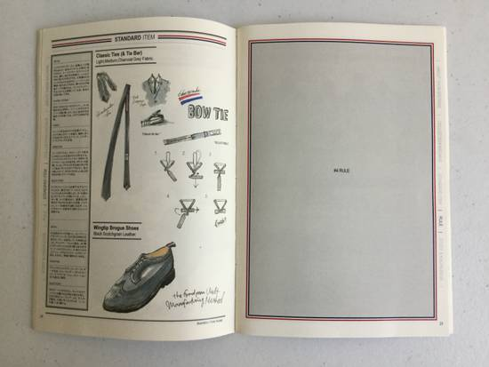 Thom Browne Thom Browne Official Handbook Size ONE SIZE - 3