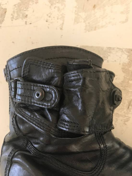 Julius AW12 gas mask removable gun holster boots Size US 9.5 / EU 42-43 - 12