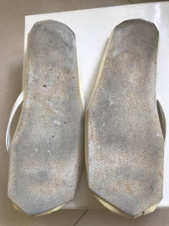 Julius SS 15 white Hexagonal shape slippers Size US 10.5 / EU 43-44 - 1