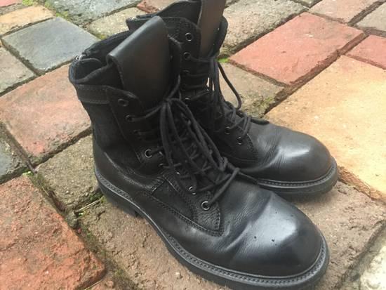 Julius SS17 Backzip Combat Boots Size US 9 / EU 42 - 10