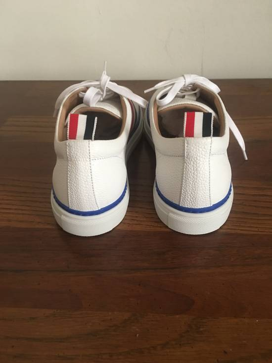 Thom Browne Low Top RWB Stripe Sneaker Size US 10.5 / EU 43-44 - 2