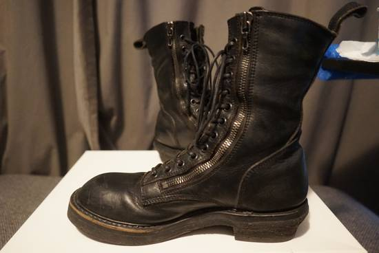 Julius Julius SS11 Double Zip Combat Boots Size US 10.5 / EU 43-44 - 3