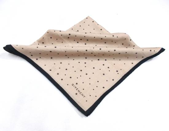 Givenchy Givenchy Paris Polka Dot Brown Pocket Squared Scarf/ Scarves/ Handkerchiefs Size ONE SIZE - 1
