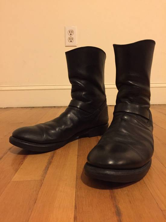Julius BELTED LEATHER BOOT Size US 10 / EU 43