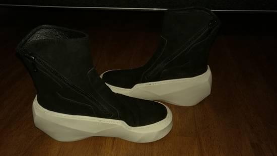 Julius HI Top Goat Nubuck Coated Polygon Platform Sneakers Size US 11 / EU 44 - 5