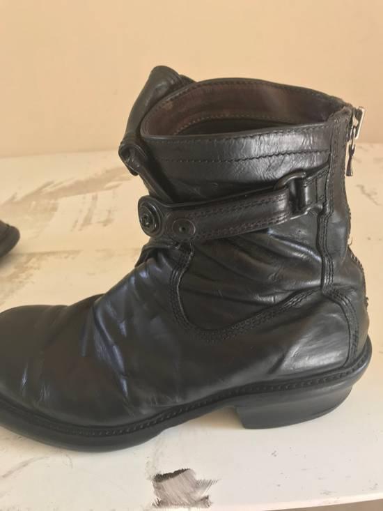Julius AW12 gas mask removable gun holster boots Size US 9.5 / EU 42-43 - 19