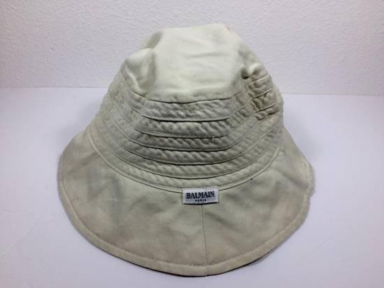 Balmain Cream Bucket Hat Small Size ONE SIZE - 3