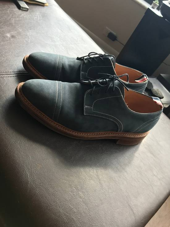 Thom Browne blue suede leather shoes Size US 9 / EU 42