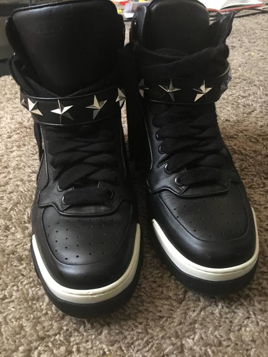 Givenchy Givenchy Tyson leather star studded high tops Size US 10 / EU 43