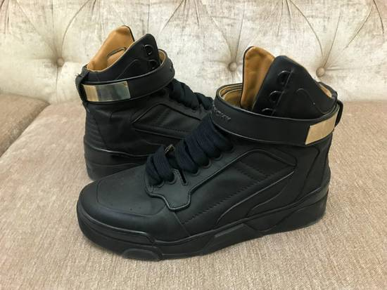 Givenchy High-Top Gold-Strap Sneaker Size US 7 / EU 40