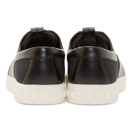 Balmain Low-Top Leather Sneakers Size US 12 / EU 45 - 1