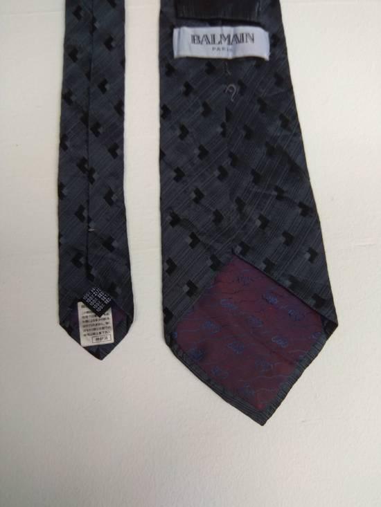 Balmain Authentic Balmain tie 100% silk seta soie seida made in italy Size ONE SIZE - 2