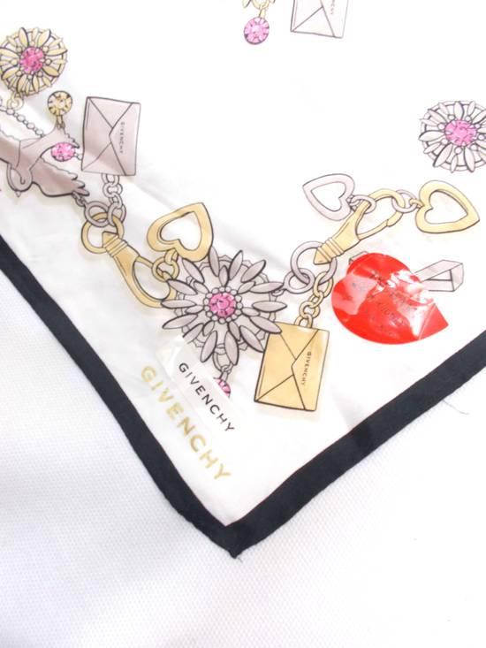 Givenchy Final Drop..!!! Givenchy Paris Tsubaki Japan Envelope Design Pocket Square Scarves/ Scarf/ Bandana/ Handky/ Handkerchiefs Size ONE SIZE - 2