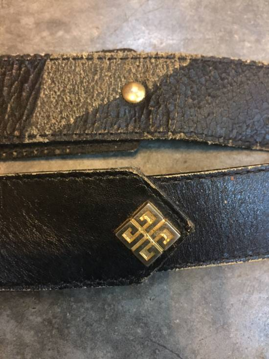 Givenchy Rare! Vintage! Givenchy Belt Classics Monogram Logo in Gold Finishing!Super Rare!High-End!Hypebeast!Streetwears! Size 28 - 4